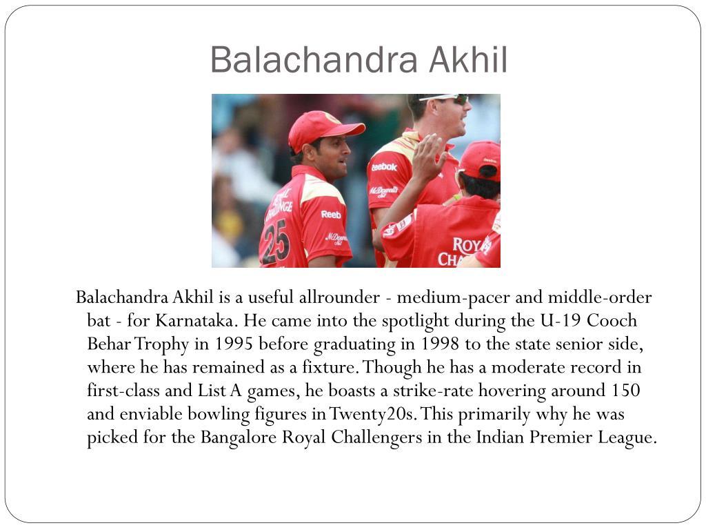 Balachandra Akhil