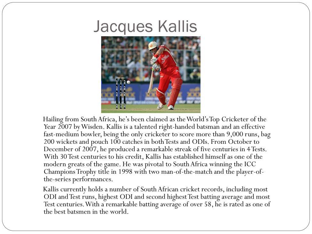 Jacques Kallis
