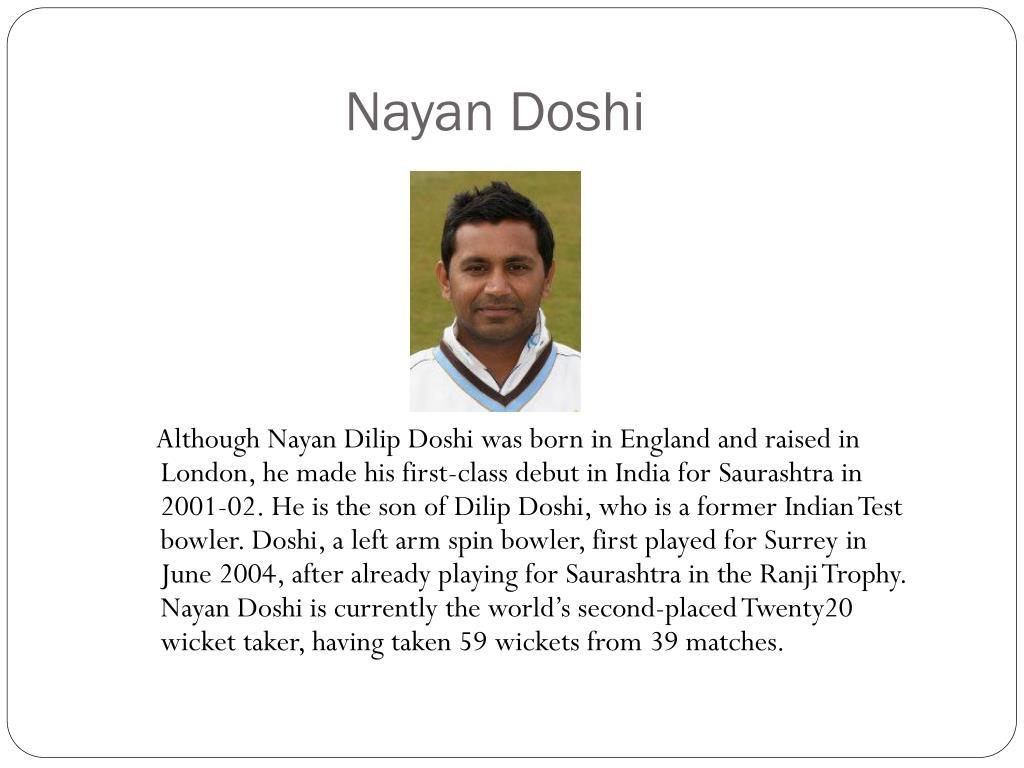 Nayan Doshi