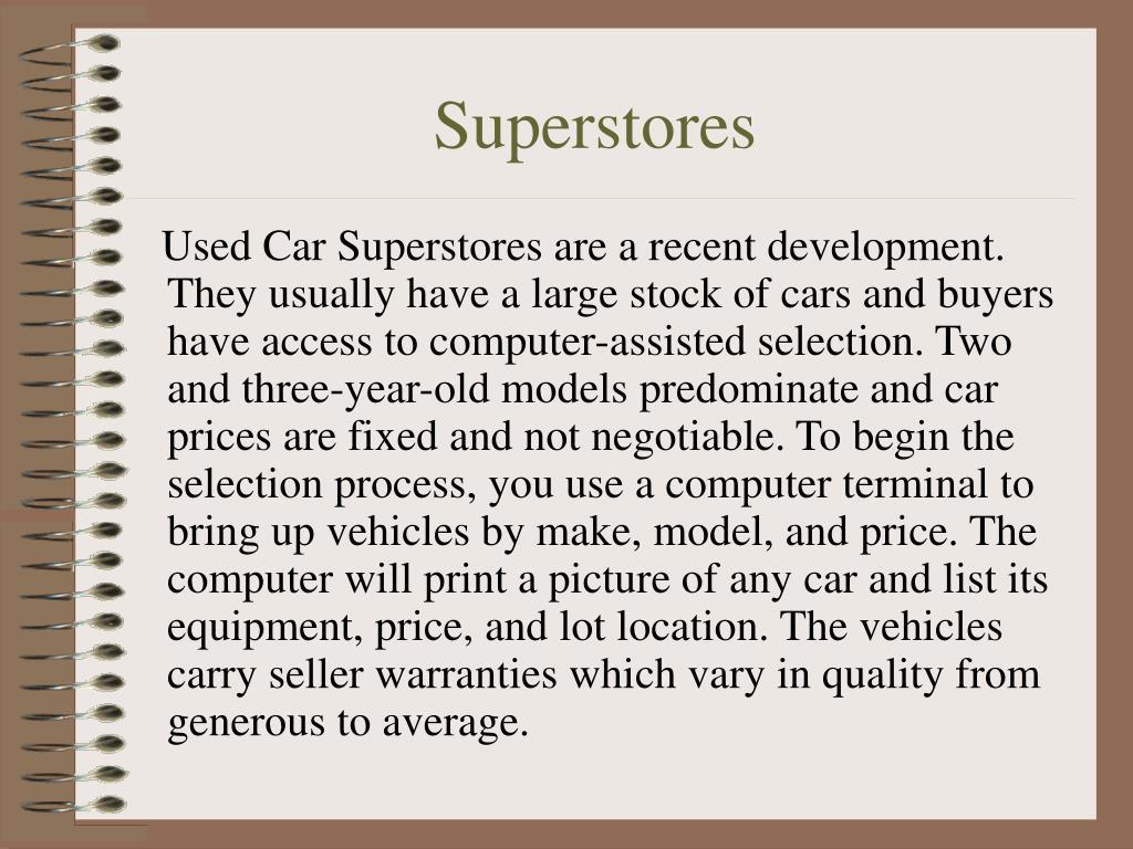 Superstores