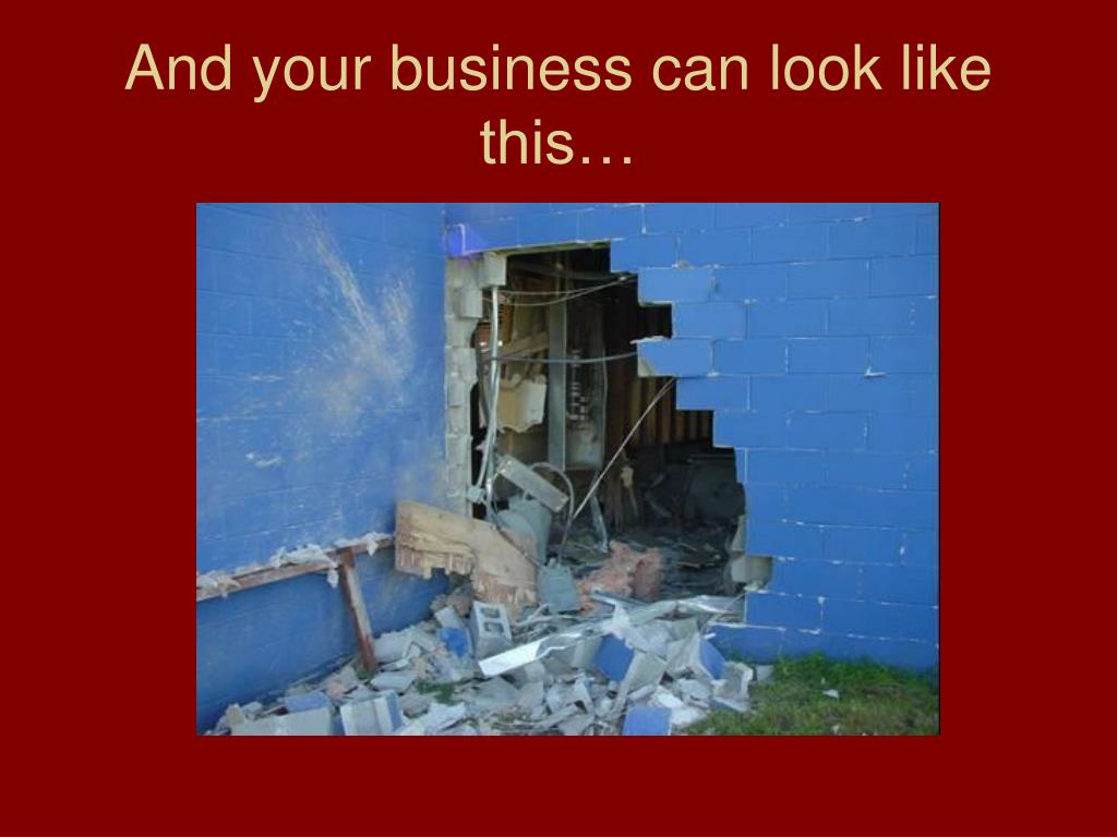 And your business can look like this…