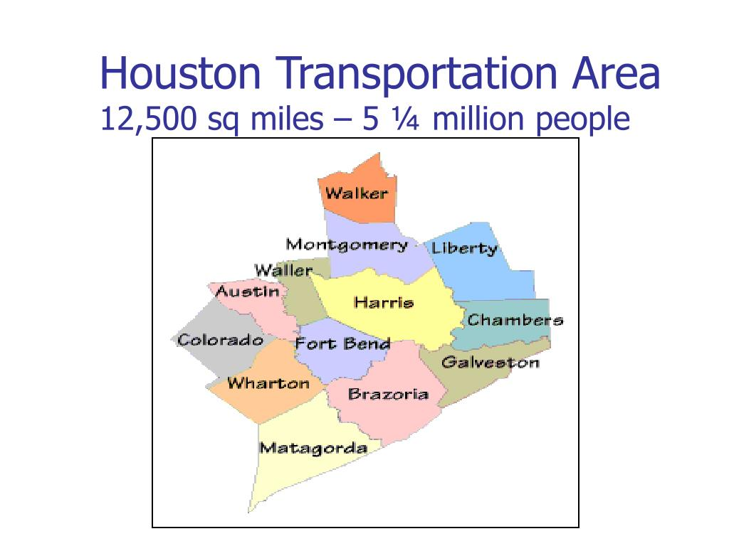 Houston Transportation Area