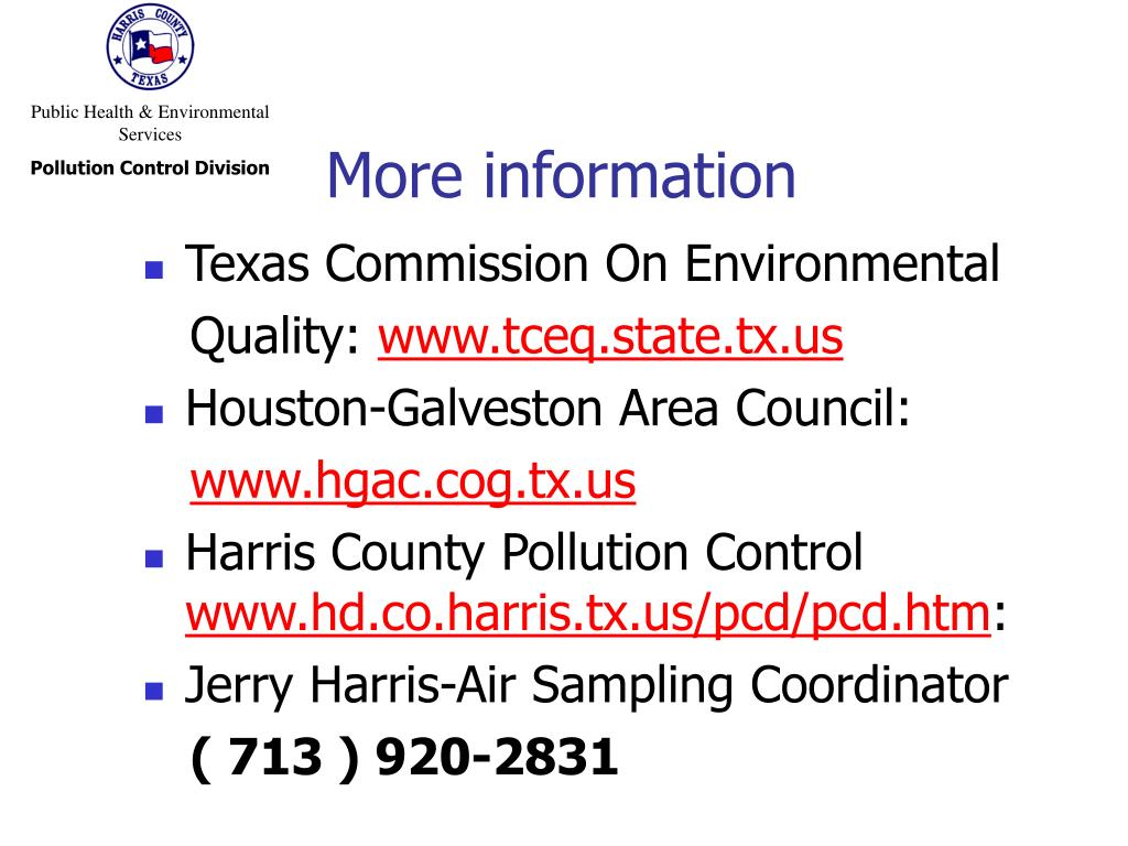 Public Health & Environmental Services