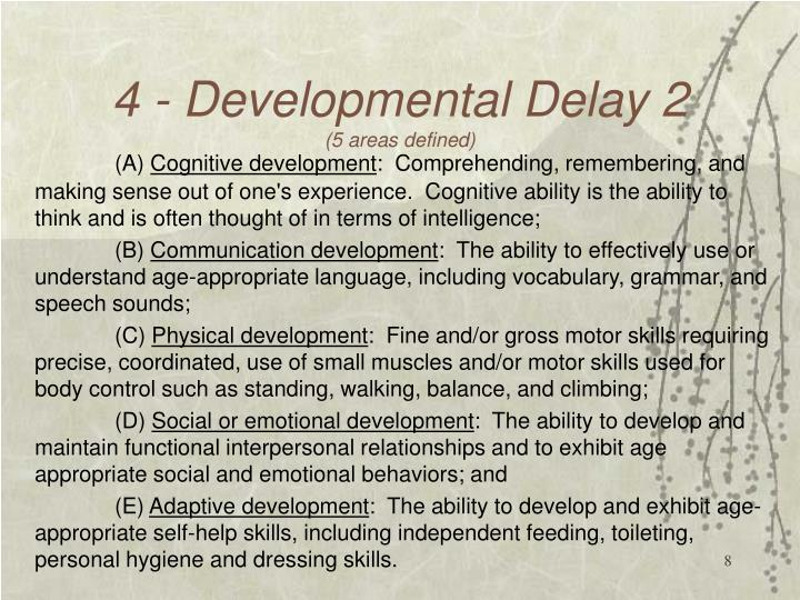 4 - Developmental Delay 2