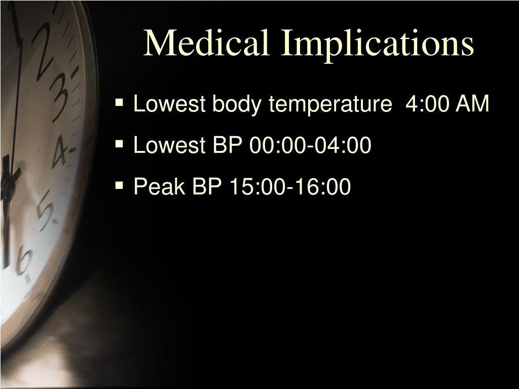 Medical Implications