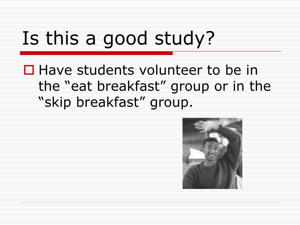 Is this a good study?