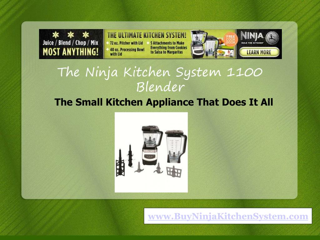 The Ninja Kitchen System 1100 Blender