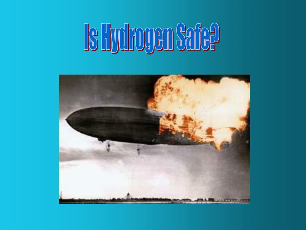 Is Hydrogen Safe?