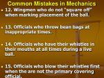 common mistakes in mechanics31