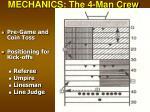 mechanics the 4 man crew