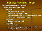 penalty administration19