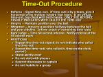 time out procedure