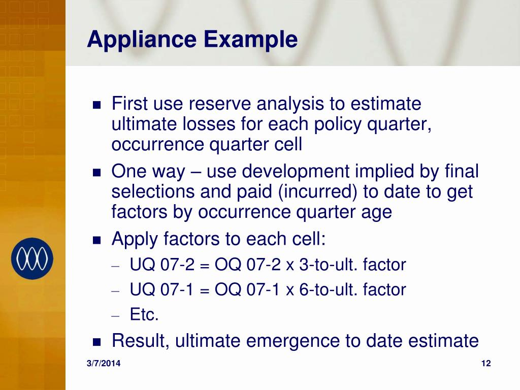 Appliance Example