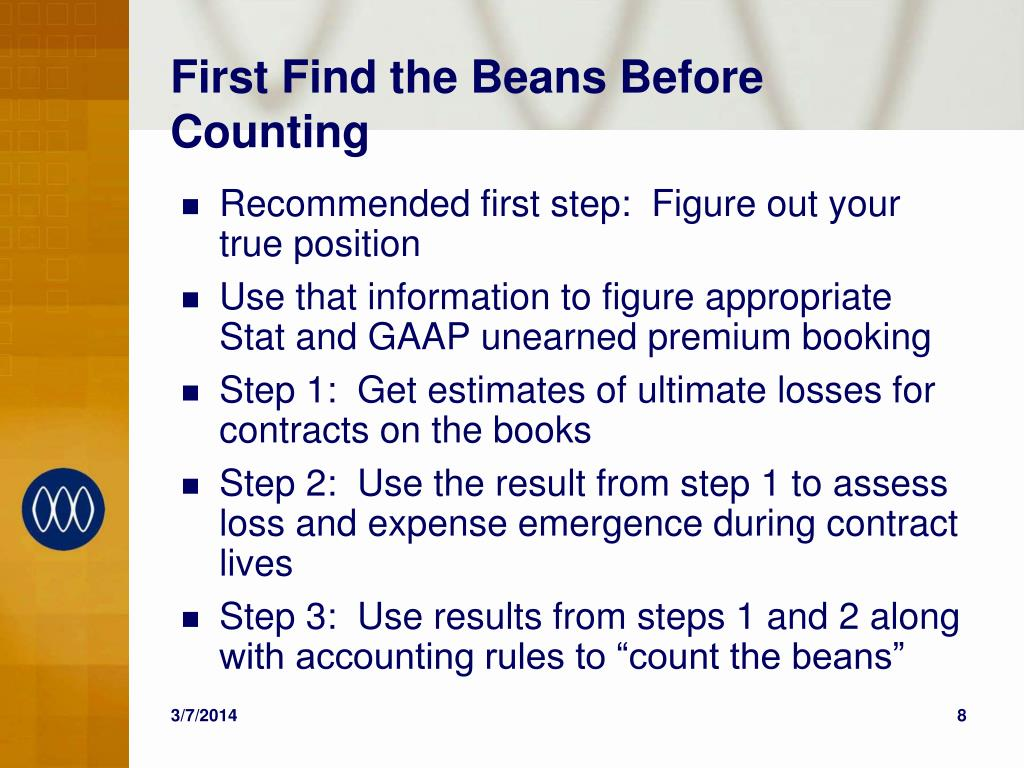 First Find the Beans Before Counting