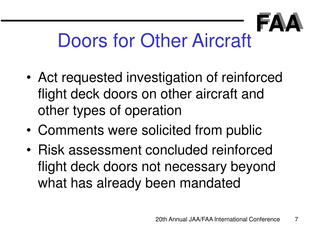 Doors for Other Aircraft