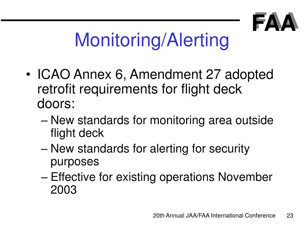 Monitoring/Alerting