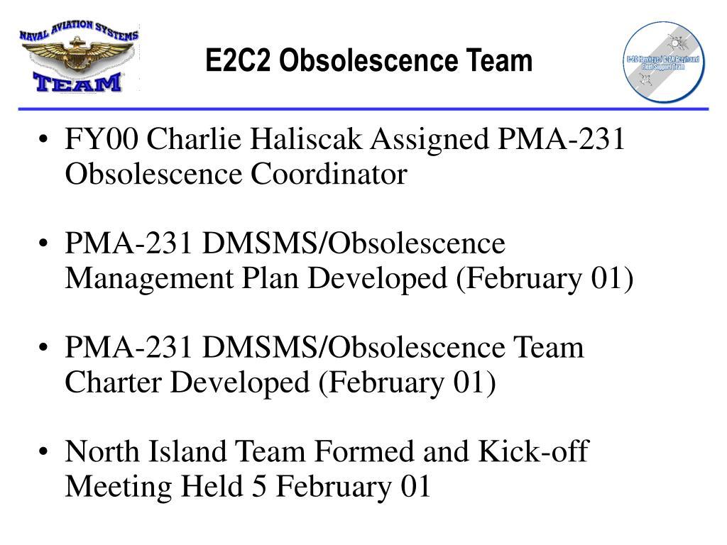 E2C2 Obsolescence Team