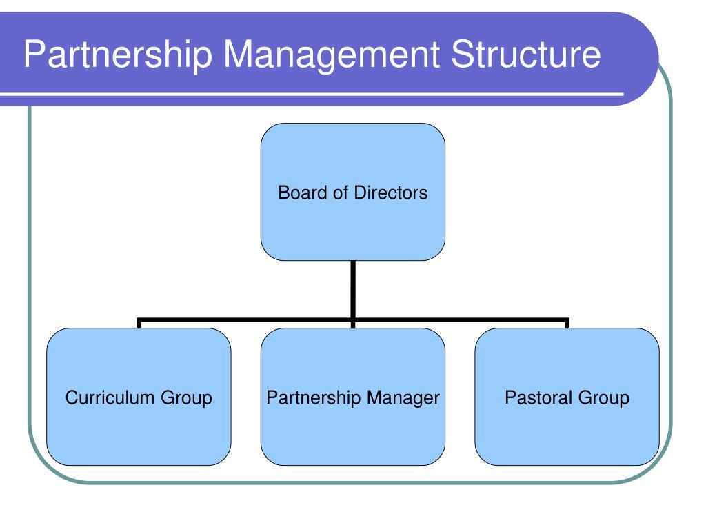 Partnership Management Structure