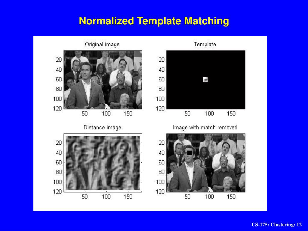 Normalized Template Matching