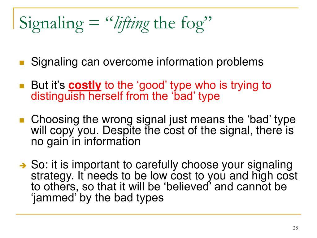 """Signaling = """""""