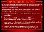 background facts