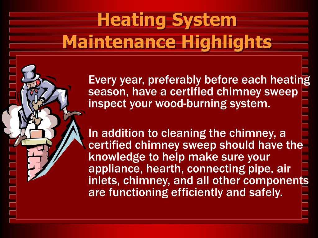 Heating System Maintenance Highlights