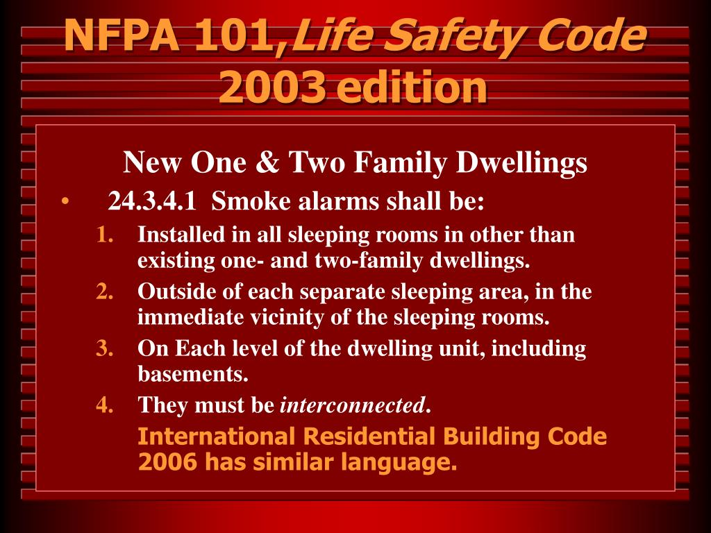 NFPA 101,