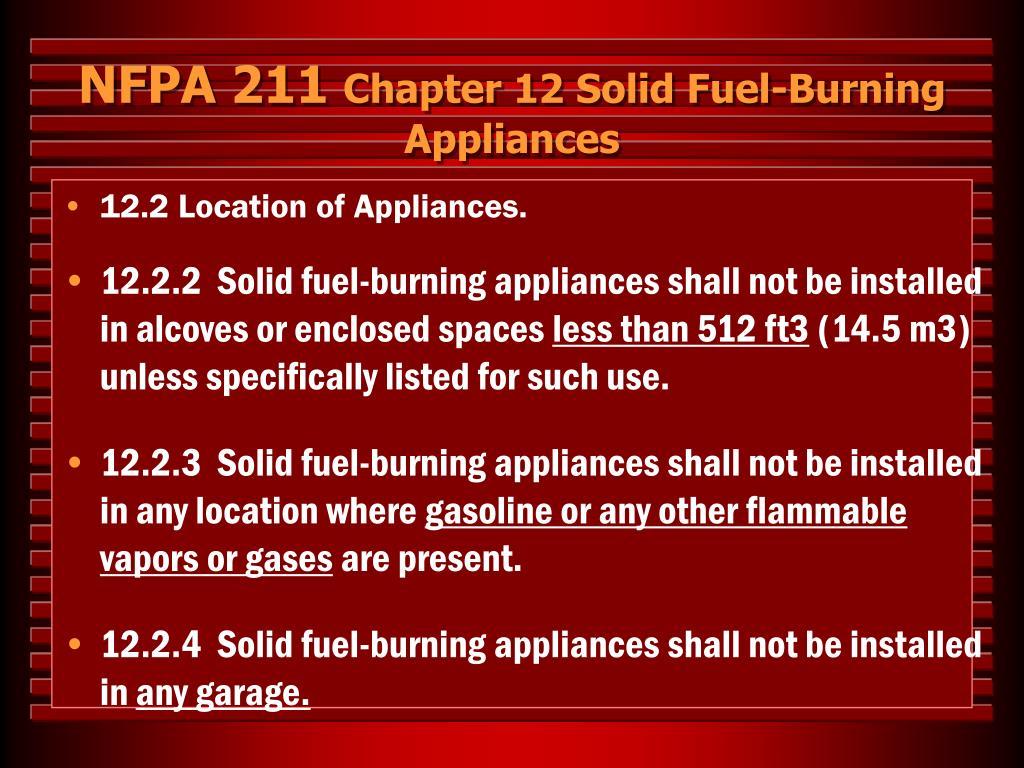 NFPA 211