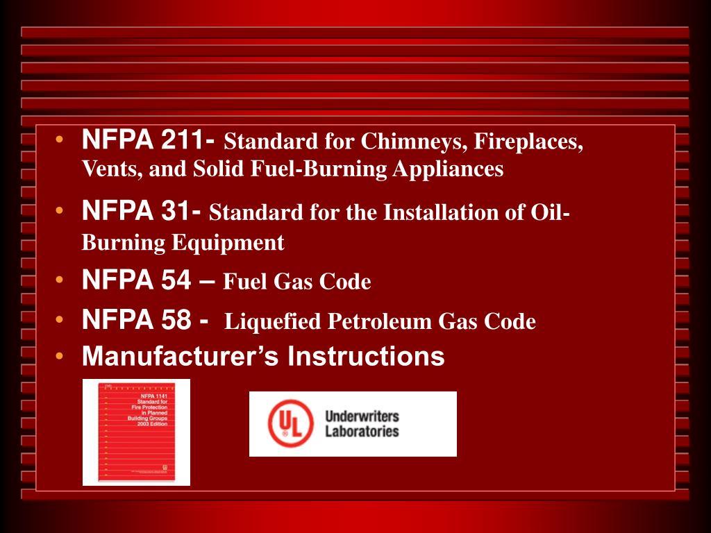 NFPA 211-