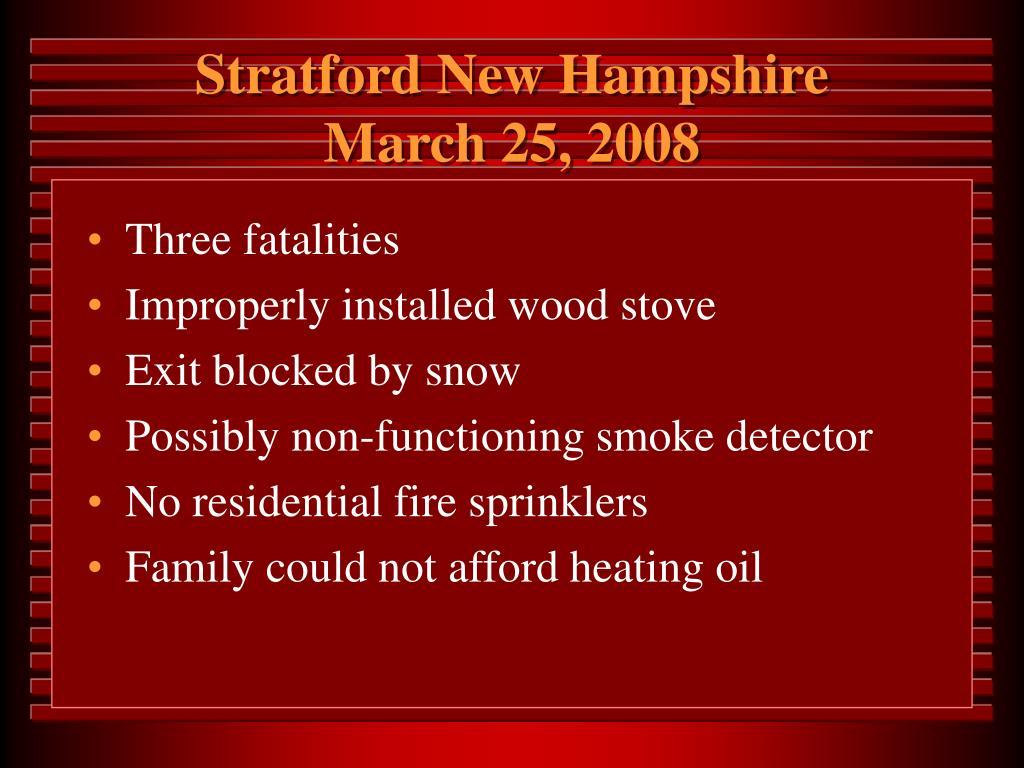 Stratford New Hampshire
