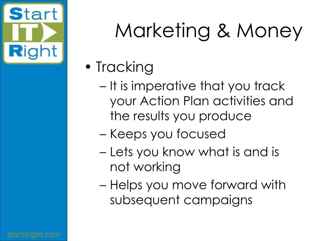 Marketing & Money
