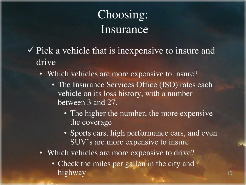 Choosing: