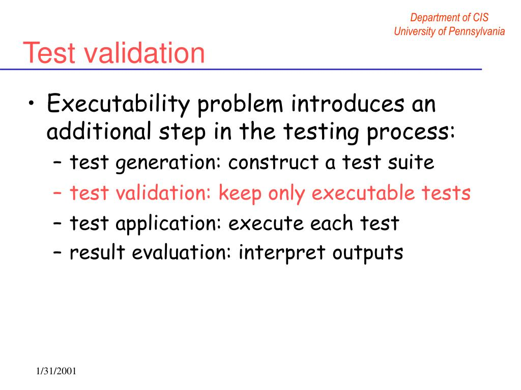 test validation: keep only executable tests