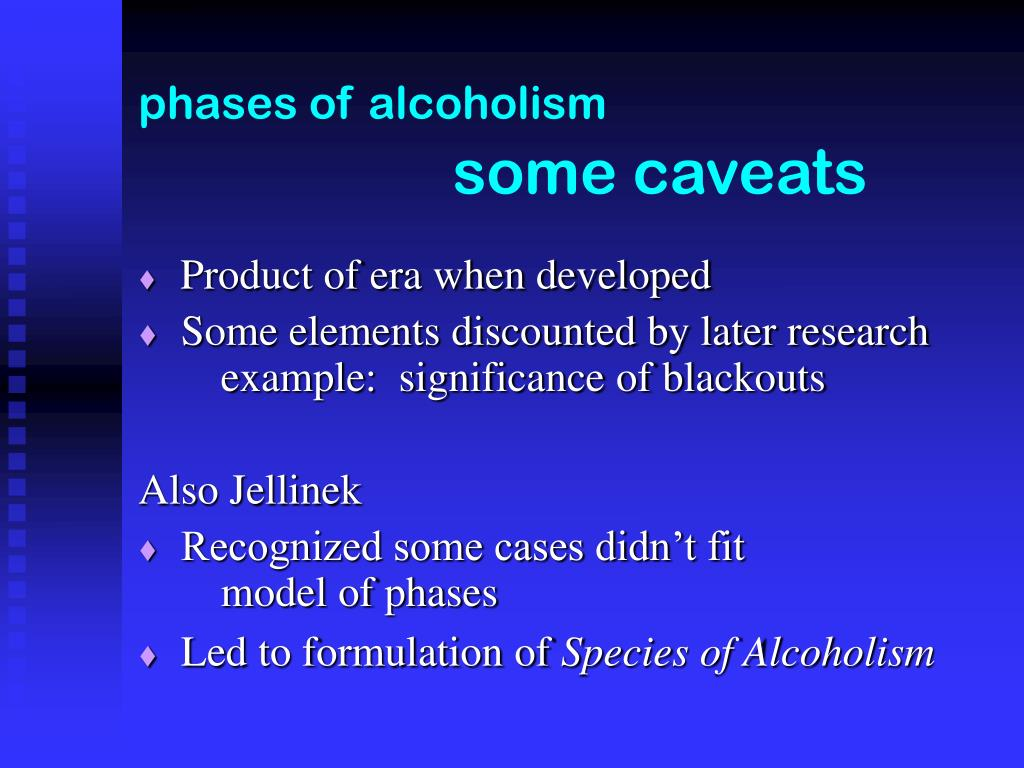 phases of alcoholism