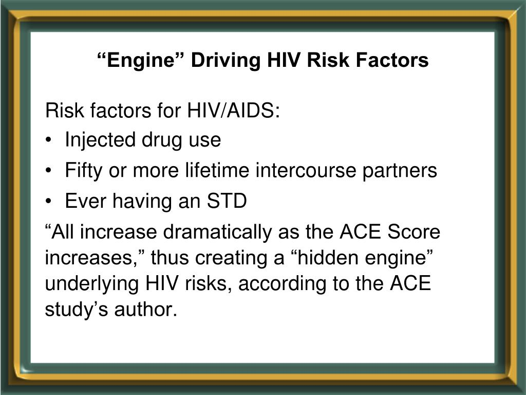 """Engine"" Driving HIV Risk Factors"