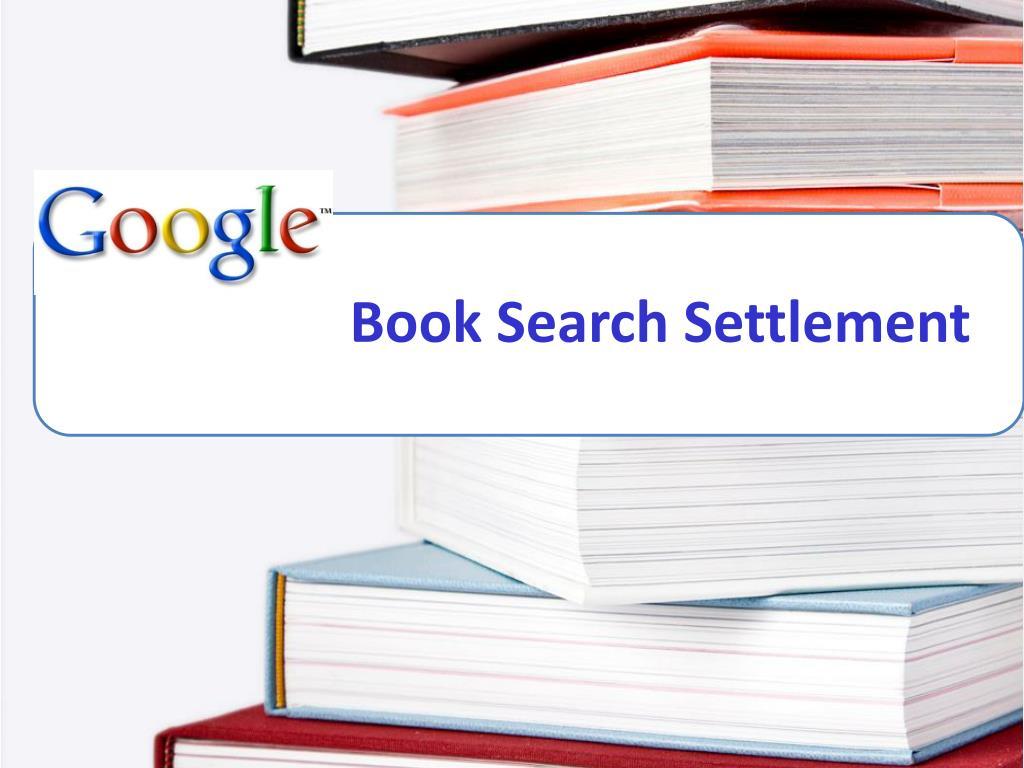 Book Search Settlement