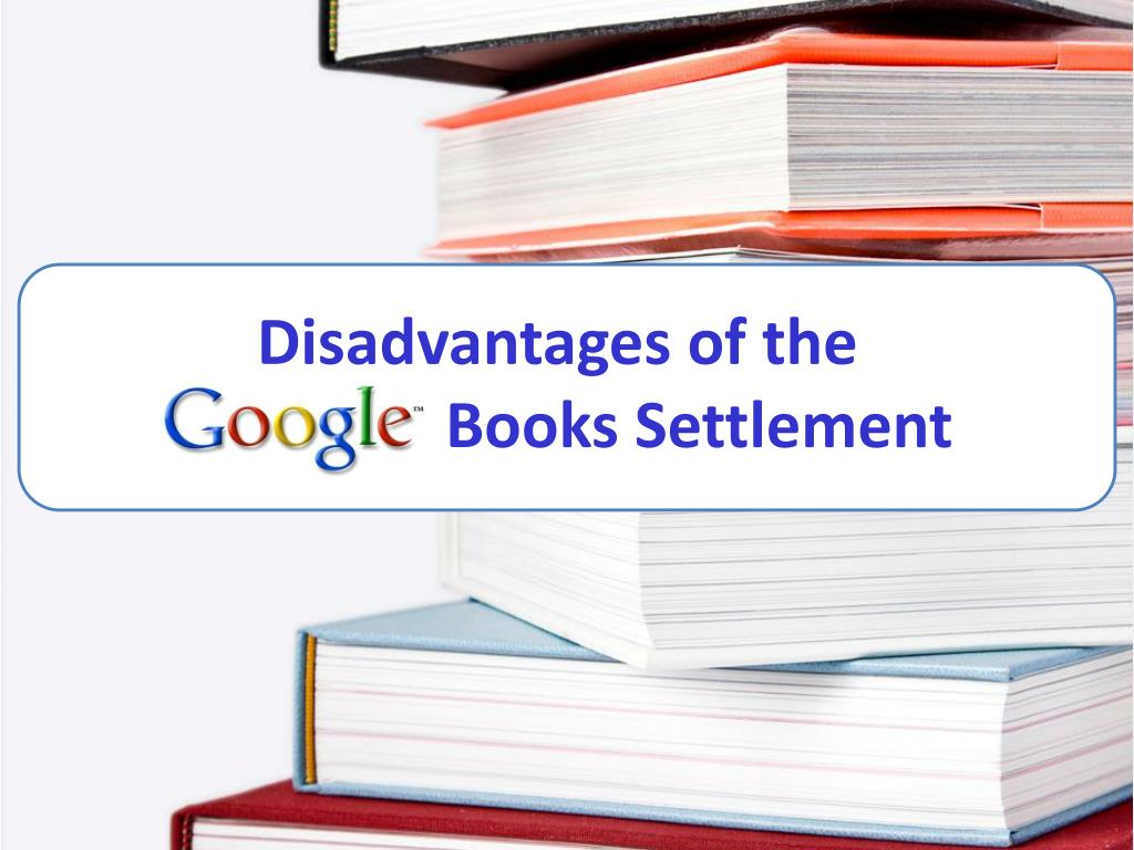 Disadvantages of the