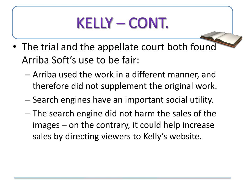 Kelly – Cont.