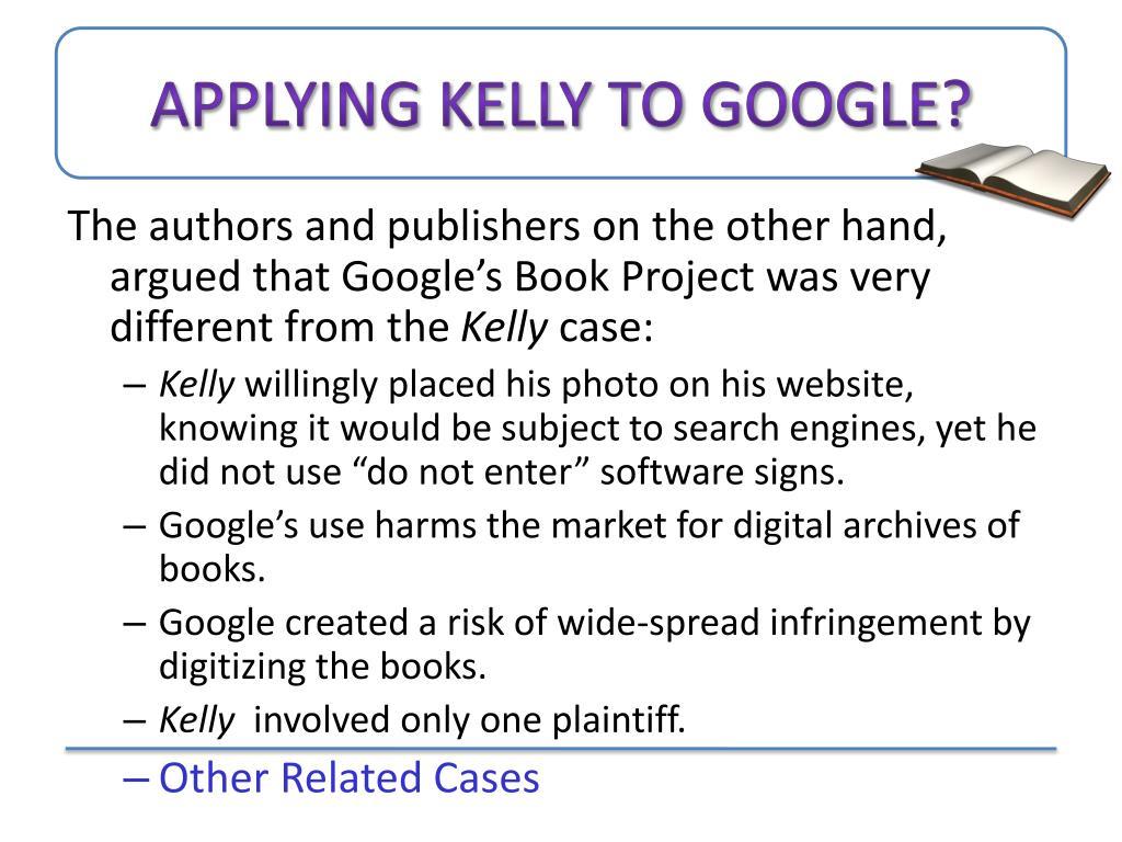 Applying Kelly to Google?