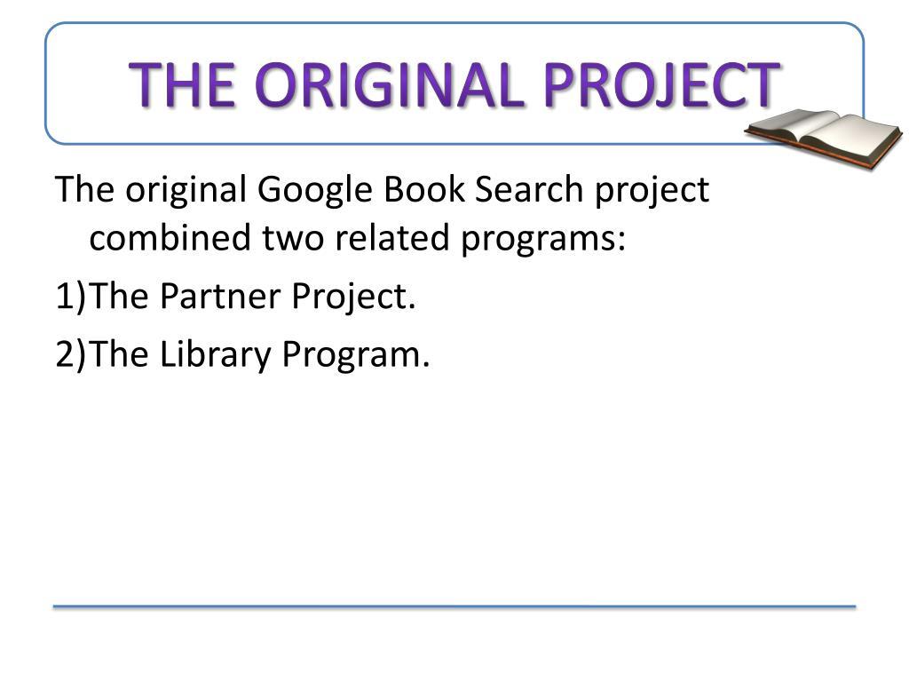 The Original Project