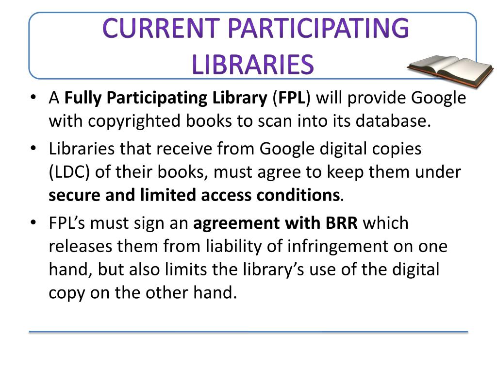 Current Participating Libraries