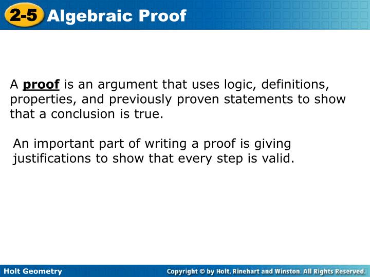 2 5 Algebraic Proof Katinabags – Algebraic Proofs Worksheet with Answers