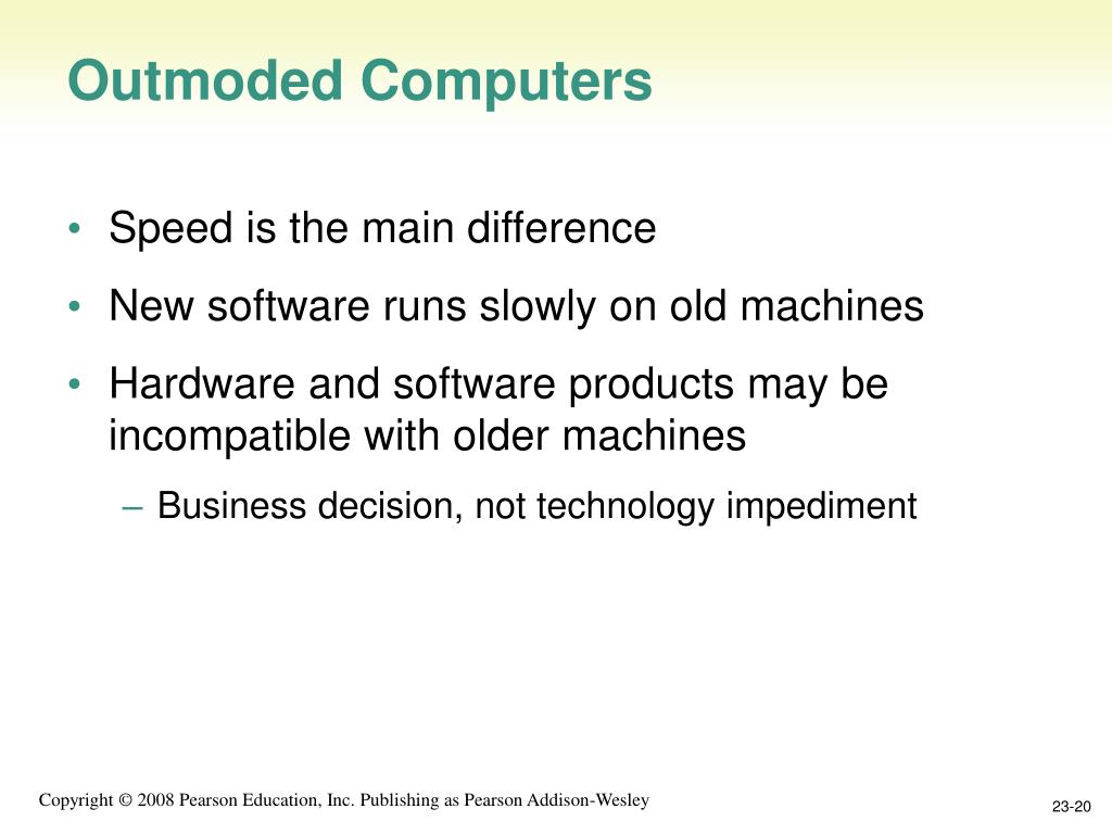 Outmoded Computers