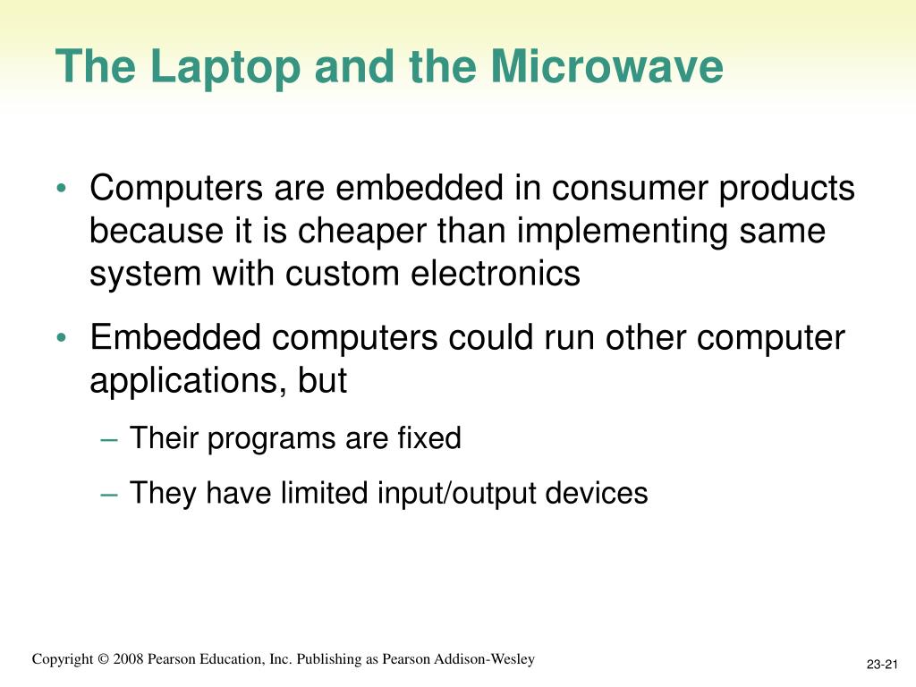 The Laptop and the Microwave