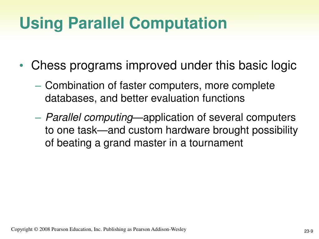 Using Parallel Computation
