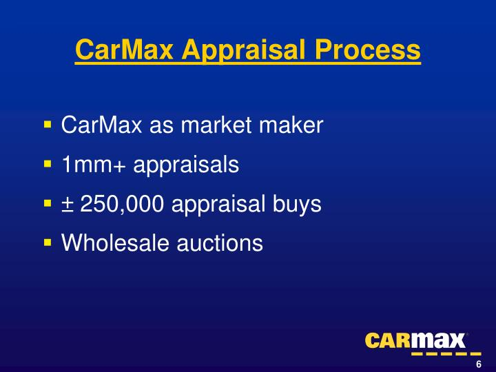 CarMax as market maker