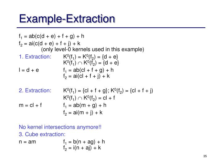 Example-Extraction