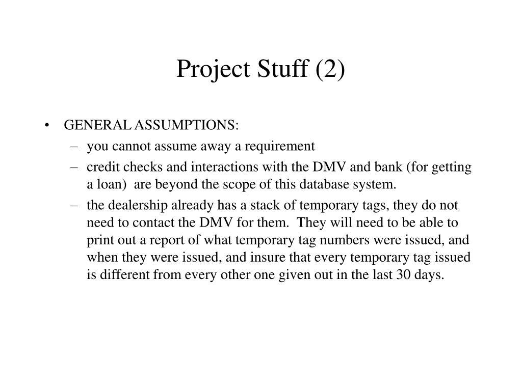 Project Stuff (2)
