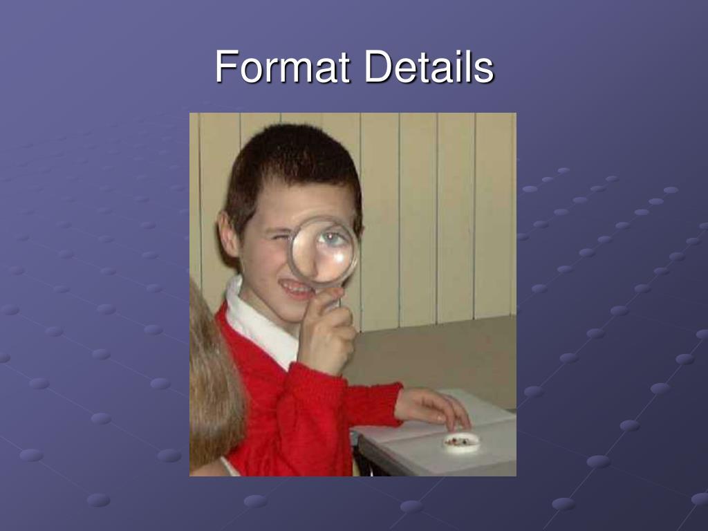 Format Details