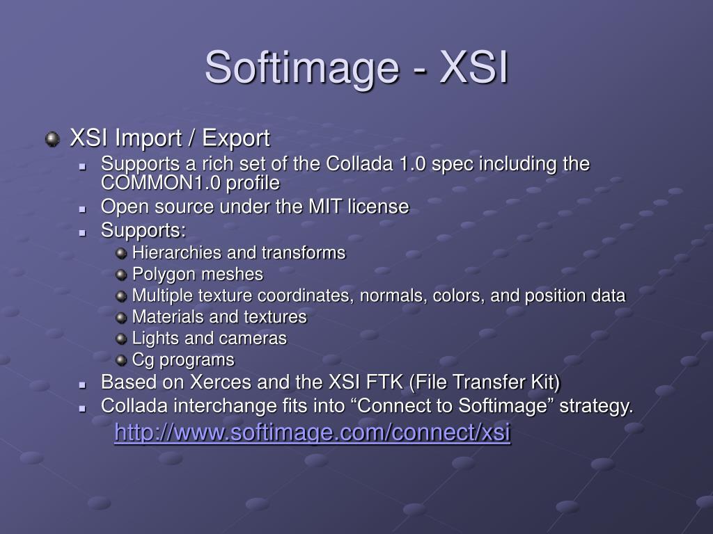 Softimage - XSI